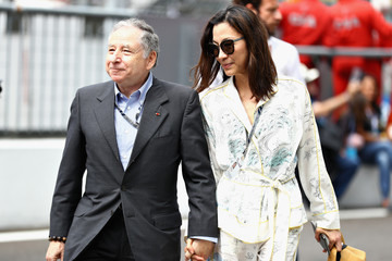 Jean Todt Michelle Yeoh F1 Grand Prix Of Italy