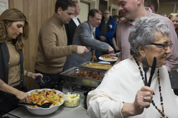 Jeanette Rubio Marco Rubio Attends Pancake Breakfast Campaign Event in NH
