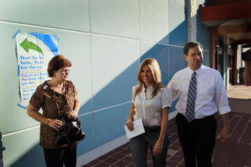Jeanette Rubio Senate Republican Nominee Marco Rubio's Wife Cast Her Vote