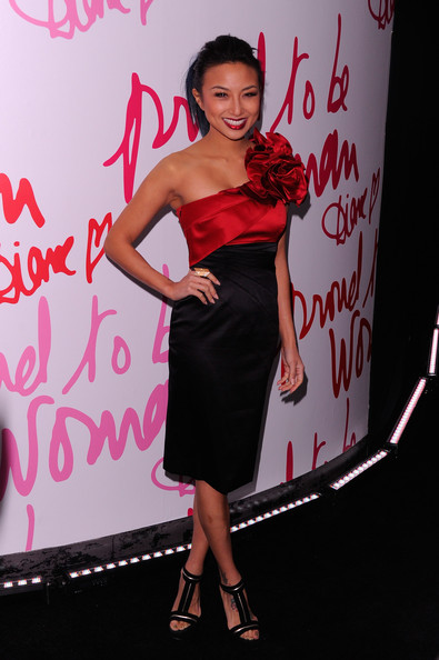 Jeannie Mai Jeannie Mai attends the 3rd annual Diane Von Furstenberg awards at the United Nations on March 9, 2012 in New York City.