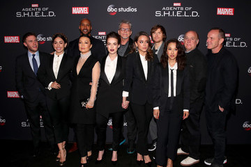 Jed Whedon 100th Episode Celebration Of ABC's 'Marvel's Agents Of S.H.I.E.L.D.' - Arrivals