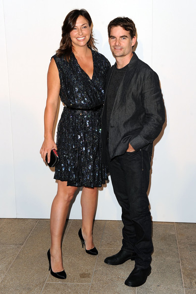 jeff gordon wife ingrid. photo jeff gordon ingrid vandebosch nascar driver jeff gordon and wife