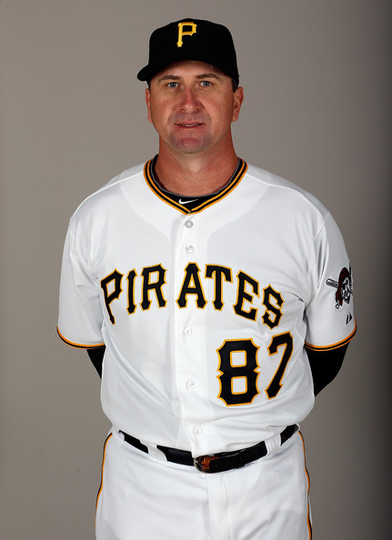 Jeff Branson - Pittsburgh Pirates Photo Day