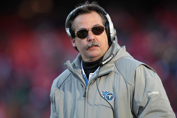 Jeff Fisher. Photo by Jamie Squire/Getty Images