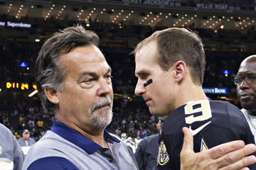 Jeff Fisher Los Angeles Rams v New Orleans Saints