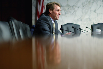Jeff Flake Senate Judiciary Committee Hears From Prominent Voices On Both Sides Of Gun Control Debate