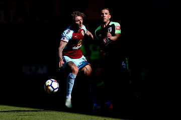 Jeff Hendrick Burnley vs. AFC Bournemouth - Premier League