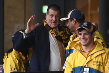 Jeff Kennett AFL 2nd Semi Final - Hawthorn v Western Bulldogs
