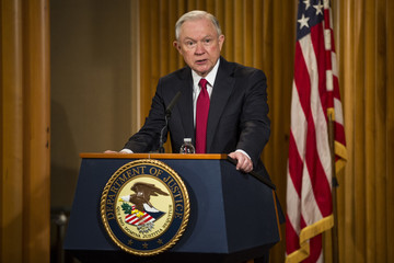 Jeff Sessions Jeff Sessions Addresses African American History Month Observation At Justice