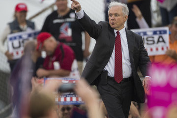 Jeff Sessions President-Elect Donald Trump Holds a Rally in Mobile, Alabama
