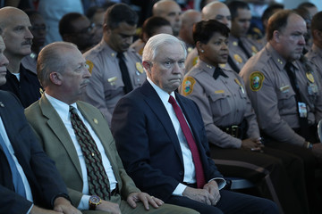 Jeff Sessions Attorney General Jeff Sessions and ICE Director Homan Speak on Sanctuary Policies in Miami