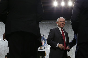 Jeff Sessions Attorney General Jeff Sessions Testifies Before Senate Intelligence Committee