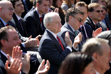 Jeff Sessions Neil Gorsuch Is Sworn In As Associate Justice To Supreme Court