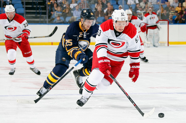 3ad81203a Jeff Skinner and Mikhail Grigorenko Photos Photos - Carolina ...
