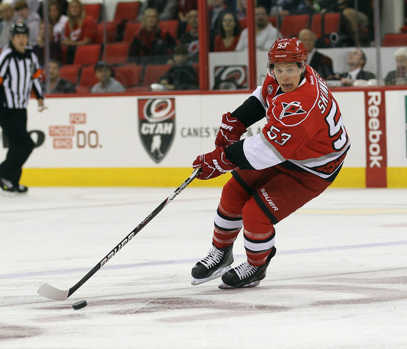 Jeff Skinner - Tampa Bay Lightning v Carolina Hurricanes