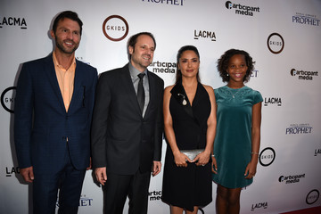 Jeff Skoll Jonathan King Guests Attend a Screening of GKIDS' 'Kahlil Gibran's The Prophet'