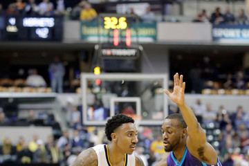 Jeff Teague Charlotte Hornets v Indiana Pacers