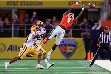 Jeff Thomas LSU vs. Miami