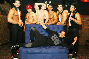 Jeff Timmons Men of the Strip Pose in NYC