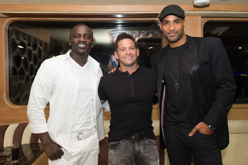 Jeff Timmons Global Launch of Tulwe Music App Hosted by Boris Kodjoe, with Performances by Akon, Davido, and Becca