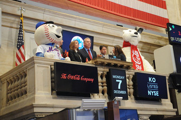 Jeff Wilpon New York Mets and Coca-Cola to Highlight New Landmark Announcement at the New York Stock Exchange Opening Bell