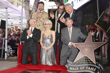 Jeff Zarrinnam Gillian Anderson Honored With Star on the Hollywood Walk of Fame