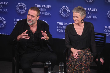 Jeffrey Dean Morgan PaleyFest NY The Walking Dead Screening And Panel