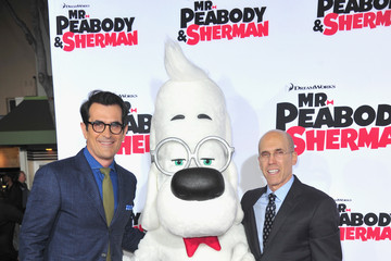 Jeffrey Katzenberg 'Mr. Peabody & Sherman' Premieres in Westwood