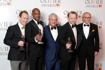 Jeffrey Seller The Olivier Awards With Mastercard - Press Room