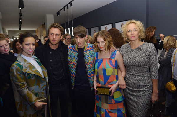 Kilian Kerner Store Opening in Berlin [event,fashion,community,fashion design,art,adaptation,visual arts,vernissage,performance,tourist attraction,kilian kerner,clueso,jella haase,gizem emre,katja riemann,berlin,kilian kerner store,store,germany]