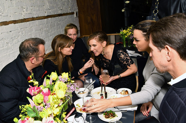 NY Premiere Of HBO's 'The Case Against Adnan Syed' At Pure Nonfiction [the case against adnan syed,floristry,event,flower arranging,floral design,ceremony,flower,bouquet,art,plant,marriage,amy berg,jemima khan,alexis bloom,guests,pure non fiction,ny,hbo,premiere,premiere]