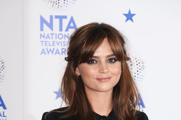 Jenna-Louise Coleman National Television Awards Winners Room
