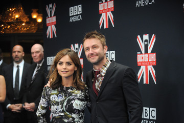Jenna-Louise Coleman 'Doctor Who' Premieres in NYC