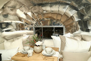 An Airstream seen at Dinner to Celebrate Jenni Kaynes Tribeca Boutique with Amy Astley and Meredith Melling at 20 Harrison Street on November 15, 2017 in New York City.