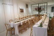 Dinner tables on display at Dinner to Celebrate Jenni Kaynes Tribeca Boutique with Amy Astley and Meredith Melling at 20 Harrison Street on November 15, 2017 in New York City.