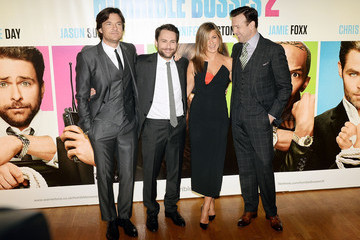 Jennifer Aniston Jason Sudeikis 'Horrible Bosses 2' Premieres in London
