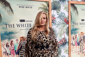 """Jennifer Coolidge Los Angeles Premiere Of New HBO Limited Series """"The White Lotus"""" - Red Carpet"""
