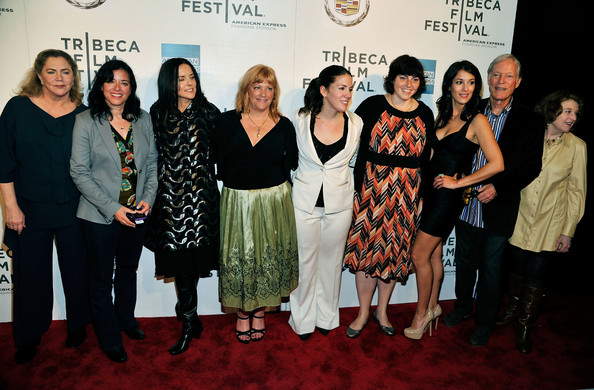 "Premiere Of ""The Perfect Family"" At The 2011 Tribeca Film Festival [the perfect family,event,fashion,premiere,award,carpet,team,red carpet,flooring,tourism,performance,rebecca wackler,angelique cabral,connie cummings,jennifer dubin,anne renton,l-r,2011 tribeca film festival,premiere,premiere]"