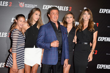 Jennifer Flavin 'The Expendables 3' Photo Call in Paris