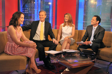 Molly Line Jennifer Garner & Nicky Taylor Visit FOX & Friends