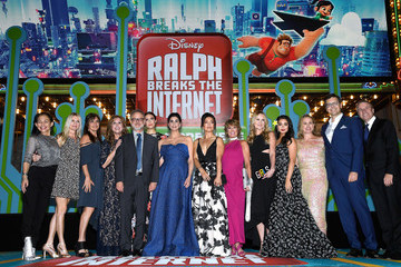 "Jennifer Hale Premiere Of Disney's ""Ralph Breaks The Internet"" - Red Carpet"
