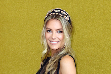 Jennifer Hawkins Celebrities Attend Melbourne Cup Day