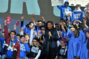 Jennifer Hudson Celebrities Attend The March For Our Lives Rally In Washington, DC
