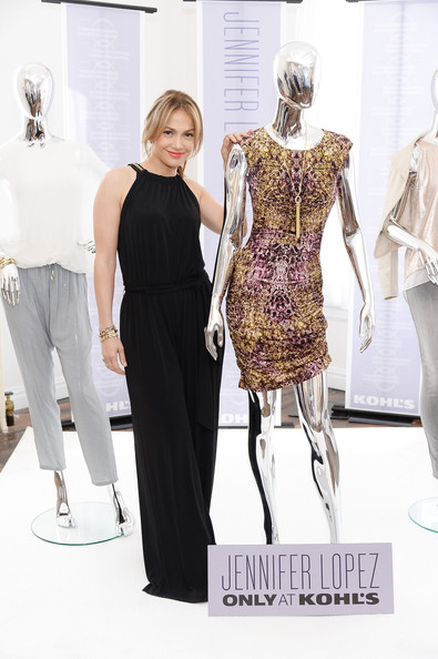 Jennifer Lopez debuts the Jennifer Lopez for Kohl's Fall 2013 Collection at Gary's Loft on May 14, 2013 in New York City.