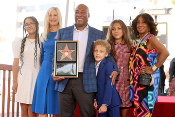 Jennifer Lucas Media Mogul Byron Allen Honored With Star On The Hollywood Walk Of Fame