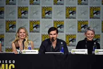 Jennifer Morrison Colin O'Donoghue The 'Once Upon A Time' Panel at Comic-Con International 2015