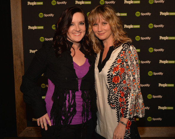 Photo of Brandy Clark & her friend   -