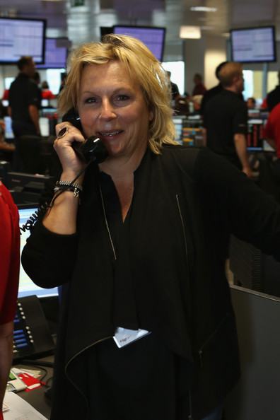 jennifer saunders pictures bgc charity day held in