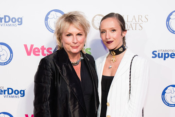 Jennifer Saunders Collars and Coats Ball 2017 - Red Carpet Arrivals