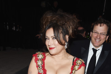 Jennifer Tilly 26th Annual Elton John AIDS Foundation Academy Awards Viewing Party sponsored by Bulgari, celebrating EJAF and the 90th Academy Awards  - Inside
